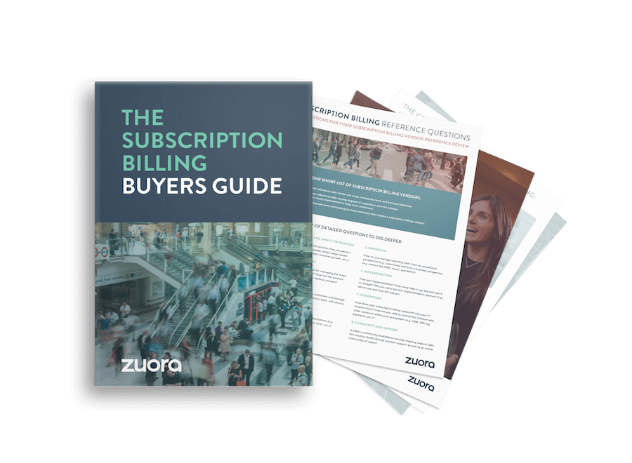 The subscription billing buyers guide
